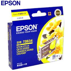 EPSON 原廠墨水匣T063450 (黃)
