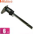 Mitutoyo 數位顯示游標卡尺  6吋15公分長