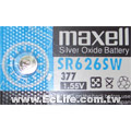 maxell 水銀電池 SR626SW/377 1顆裝