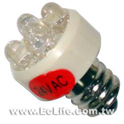 LED消防燈24V  E12  紅光
