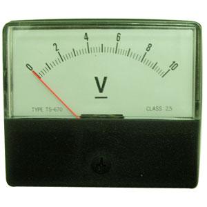 指針錶頭DC10V