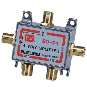 大通四路分配器GSD-74