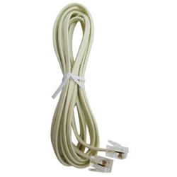 電話線雙接頭6P4C (7呎)