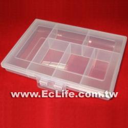 零件盒 連身小6格