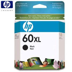 HP NO.60XL/CC641WA 原廠黑色高容量墨水匣