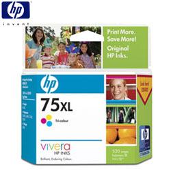 HP NO.75XLCB338WA 彩色高容量墨水匣