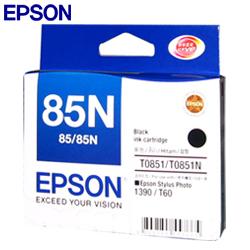 EPSON 851N原廠墨水匣T122100 (黑)原T085100