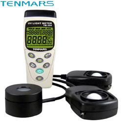 Tenmars 記憶式三合一太陽能照度計 TM-208