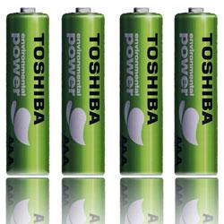 TOSHIBA 東芝 環保綠電池 (四號4入)