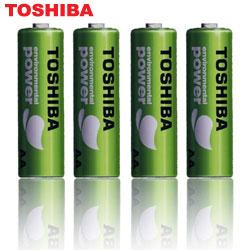 TOSHIBA 東芝 R6UE 環保綠電池 (三號4入)