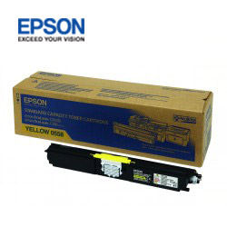 EPSON 原廠標準碳粉匣 S050558 (黃)(C1600/CX16NF)