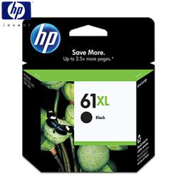 HP No.61XLCH563WA 黑色高容量墨水匣