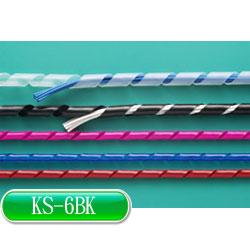 KSS 捲式結束帶(PE) KS-6BK (黑色)