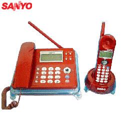三洋來電顯示子母無線電話CLT-3013(紅)