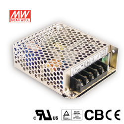 MW明緯 35W 機殼型交換式電源供應器 RS-35-24