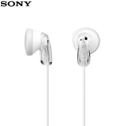 SONY 索尼 MDR-E9LP 繽紛多彩立體聲耳塞式耳機 白