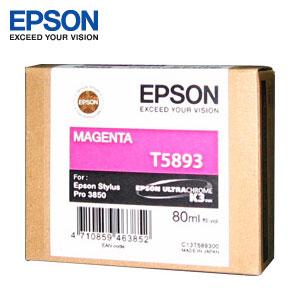 EPSON 原廠墨水匣 T589300 (紅)80ml (PRO 3850)