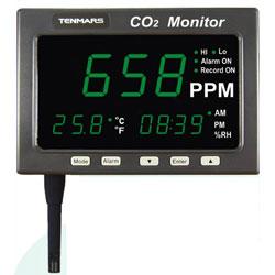 Tenmars TM-186 二氧化碳偵測器/LED大螢幕顯示器