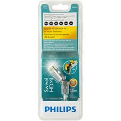 PHILIPS 飛利浦 SWV3431S/10 旋轉頭 HDMI線 1.5M 銀