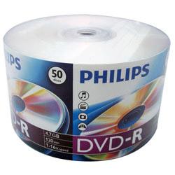 PHILIPS 飛利浦 16X DVD-R 燒錄片 50入熱縮膜