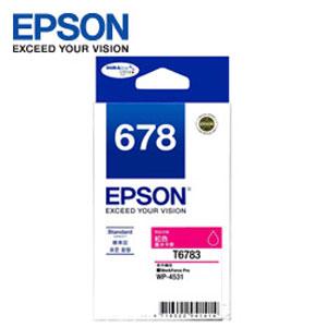 EPSON 紅色墨水匣 T678350 ( WP~4531,WP~4091)