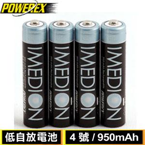MAHA-POWEREX 低自放鎳氫4號充電池 MH-4AAAI 950(4入)