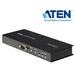 ATEN宏正 VE500RQ VGA延長器 (300公尺/Cat 5e/1920x1200)