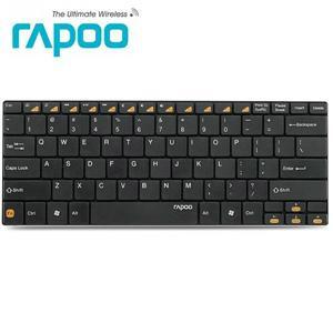 Rapoo 雷柏E6100 藍芽無線超薄鍵盤 黑色