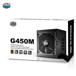 Cooler Master 酷碼 G450M 450W 80+銅牌 電源供應器