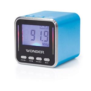 Wonder旺德 WS-P002 USB/MP3/FM 隨身喇叭 藍