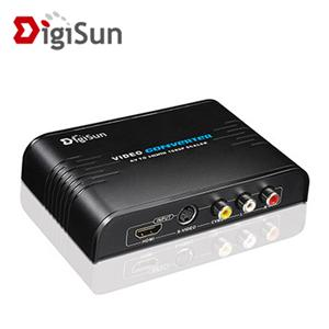 DigiSun VH518 AV/S+HDMI端子轉HDMI高解析影音訊號轉換器