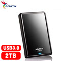 ADATA威剛 HV620 2.5吋 2T USB3.0 行動硬碟(黑)
