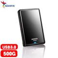 ADATA威剛 HV620 2.5吋 500GB USB3.0 行動硬碟 黑