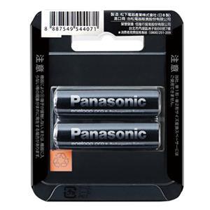 Panasonic 3號低自放2450mAh鎳氫充電電池 2只裝