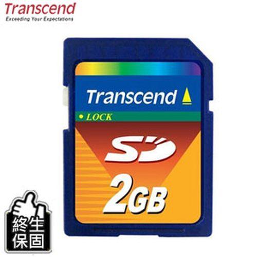 Transcend 創見 SD 2G記憶卡 TS2GSDC