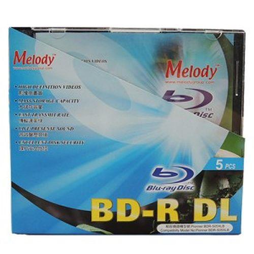 Melody  50GB 藍光燒錄片  5入盒裝