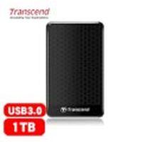 Transcend 創見 25A3 1TB 2.5吋 行動硬碟 黑