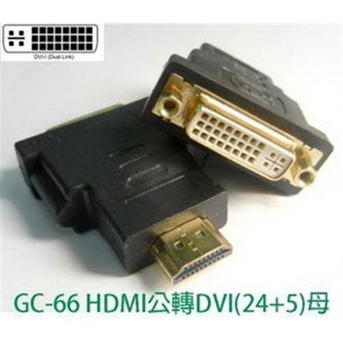 SCE HDMI(19)公轉DVI(24+5)母 轉接頭