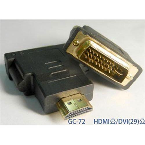 SCE HDMI(19)公轉DVI(24+5)公 轉接頭