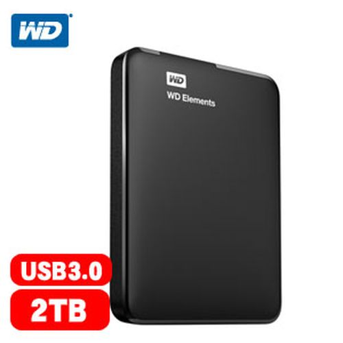 WD Elements Portable 2.5吋 2TB 外接硬碟