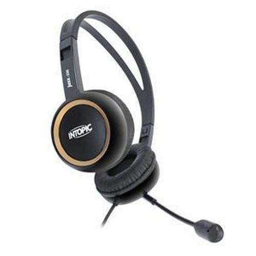 頭戴式耳機麥克風 黑 JAZZ~230~BGD
