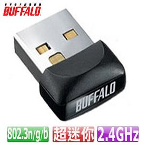 BUFFALO 巴比錄 UC-GNM 11n 超級迷你 USB 無線網路卡