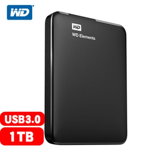 WD Elements Portable 2.5吋 1TB 外接硬碟