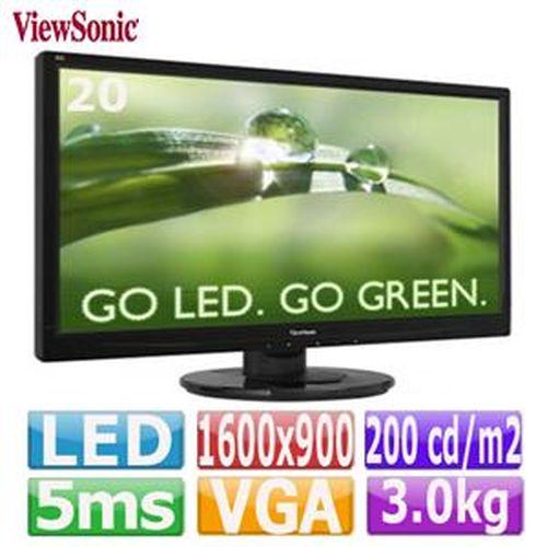 ViewSonic 優派 VA2046a-LED 20型 LED液晶顯示器
