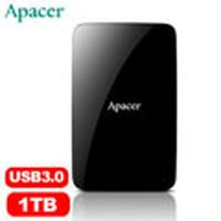 Apacer宇瞻 AC233 2.5吋 1TB  USB 3.0 行動硬碟