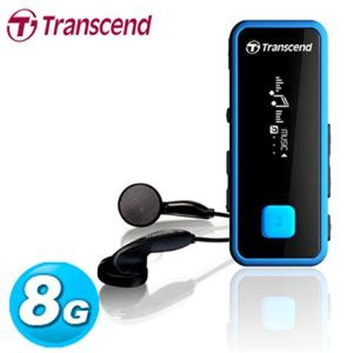 Eclife-Transcend  MP350 MP3  8GB