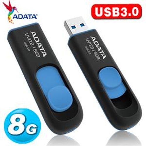 ADATA 威剛 UV128 8GB USB3.0 隨身碟 (藍色)