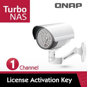QNAP威聯通 LIC-CAM-NAS-1CH IP-Cam擴充license