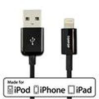 Apple 授權 原廠傳輸線 8pin -黑 100cm