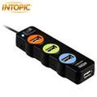 INTOPIC 廣鼎 HB-25-BK USB2.0全方位集線器